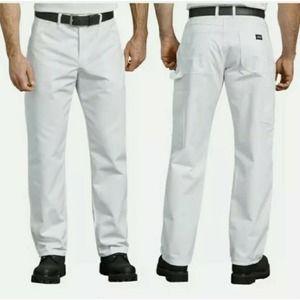 Dickies 44x30 White Painter's Pants NWT
